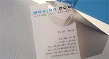 0.3mm透明磨砂PVC高档名片 ()